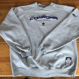 Dallas Cowboys grey sweatshirt in large